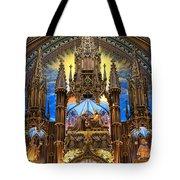 Details Notre Dame Montreal Tote Bag