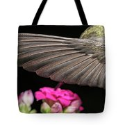 Details Of The Hummingbird Wing Tote Bag