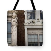 Details Of The Patrick Henry Hotel Roanoke Virginia Tote Bag