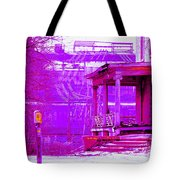 Deterioration In Neon Tote Bag