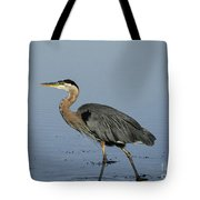 Determination - Great Blue Heron Tote Bag