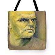 Determination / Portrait Tote Bag