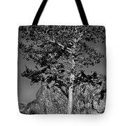 Determined, Monochrome Tote Bag