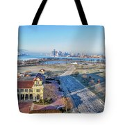 Detroit  A New Day A New Year Tote Bag
