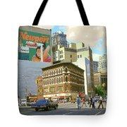 Detroit Michigan 84 - Watercolor Tote Bag