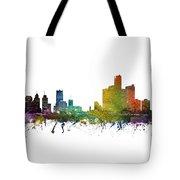 Detroit Cityscape 01 Tote Bag