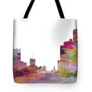 Detroit Colors Tote Bag