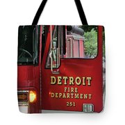 Detroit Fire Department Tote Bag