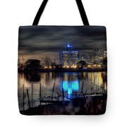 Detroit Reflections Tote Bag