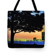 Detroit River View Tote Bag