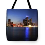 Detroit Skyline 1 Tote Bag by Gordon Dean II