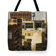 Detroit Steam City Tote Bag
