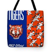 Detroit Tigers 1962 Yearbook Tote Bag