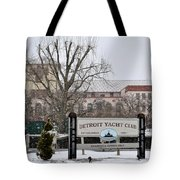 Detroit Yacht Club Tote Bag