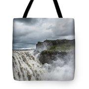 Dettifoss Waterfall Tote Bag