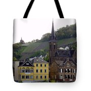 Deutsche Spire Tote Bag