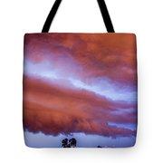 Developing Nebraska Night Shelf Cloud 011 Tote Bag