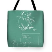 Device For Protecting Animal Ears Patent Drawing 1d Tote Bag