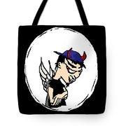 Devil Boy Cartoon Tote Bag