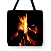 Devil Fire Tote Bag
