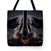 Devil Horn Focus Stack Tote Bag