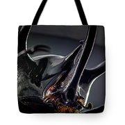Devil Horns Macro Tote Bag
