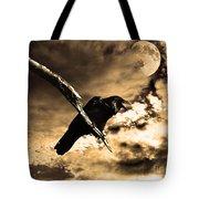 Devil In The Clouds Tote Bag