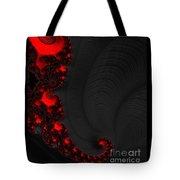 Devil Light 2   A Fractal Abstract Tote Bag