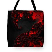 Devil Light   A Fractal Abstract Tote Bag