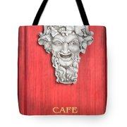 Devil Sculpture Tote Bag