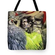 Devil Vs Angel Tote Bag