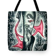 Devilicious Boot Tote Bag