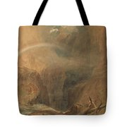 Devil's Bridge Saint Gotthard's Pass Tote Bag
