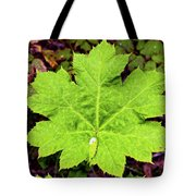 Devil's Club Leaf Tote Bag