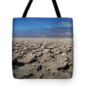 Devil's Golf Course Tote Bag