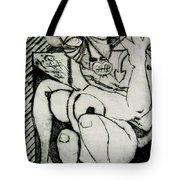 Devils Horse Tote Bag