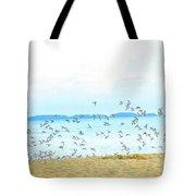 Devil's Island  Tote Bag