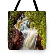 Devil's Kettle Falls Tote Bag