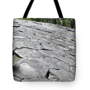Devils Postpile - Nature And Science Tote Bag by Christine Till