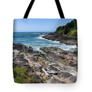Devils Punch Bowl Tote Bag