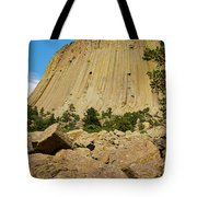 Devils Tower Four Tote Bag
