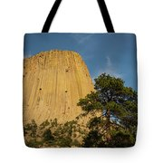 Devils Tower One Tote Bag