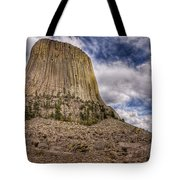 Devil's Tower Summer Afternoon Tote Bag