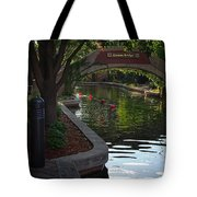 Devon Canal Bridge  Tote Bag