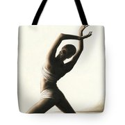 Devotion To Dance Tote Bag