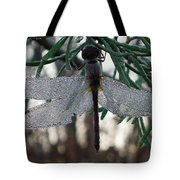 Dew Beaded Wings Tote Bag