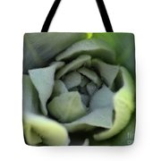 Dew On Common Mullein Tote Bag