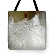 Dew On Milkeed Tote Bag