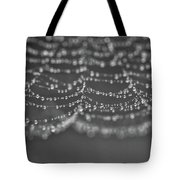 Dew On The Lines Tote Bag