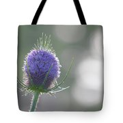 Dew On Thistle 2 Tote Bag